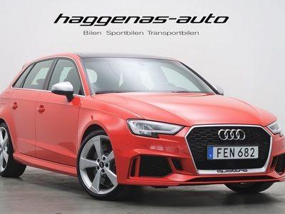 begagnad Audi RS3 Sportback / 400hk / Keyless