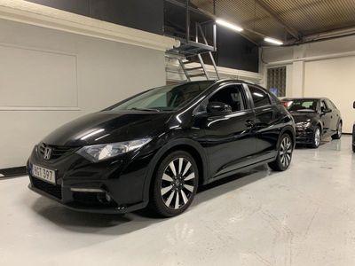 begagnad Honda Civic 1.6 i-DTEC Sport Black weekend!