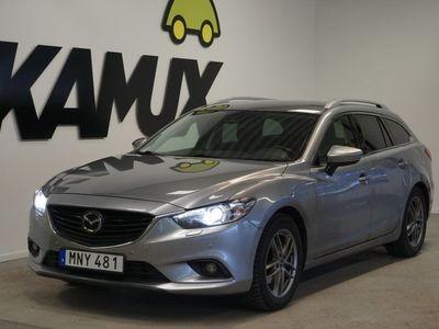 begagnad Mazda 6 2.2 DE Kombi *Söndagsöppet 26/1* | Optimum | Nyservad | (175hk)