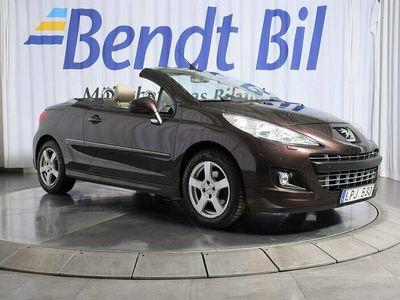 begagnad Peugeot 207 CC 1.6 VTi 120hk / 5500 mil / Läder