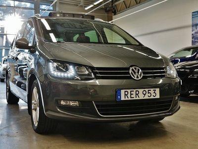 usata VW Sharan TDI 4M. Premium Panorama D-Värmare Drag 7-sits 150hk