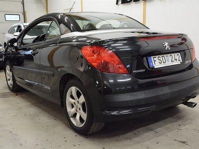 begagnad Peugeot 207 CC 1.6 VTi (120hk) CAB / 8438 MIL! / NYSERVAD
