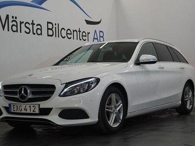 begagnad Mercedes C220 T BlueTEC 7G-Tronic AUT EU6 170HK DRAG SV-SÅLD