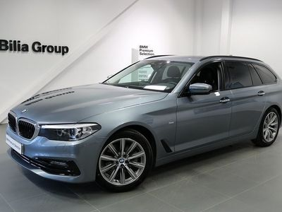 begagnad BMW 520 d Touring | Sport Line | Connected | -18