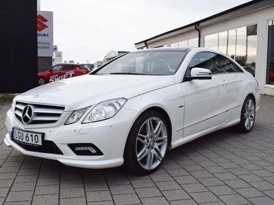 begagnad Mercedes E350 E BenzCDI Coupé AMG 5 2011, Sportkupé 238 000 kr