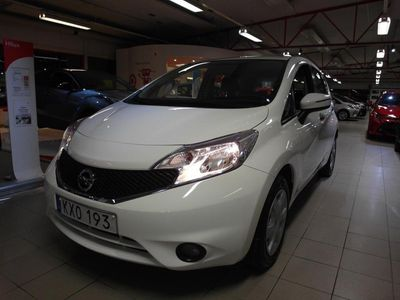 begagnad Nissan Note 1.5 dCi Euro 6 2016, Personbil 79 500 kr