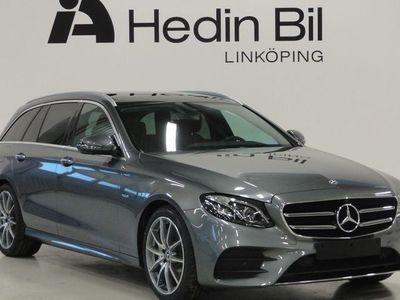 begagnad Mercedes E200 KOMBI AMG-LINE BRÄNSLEVÄRMARE BURMESTER SURROUND