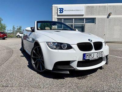 begagnad BMW M3 Cabriolet Drivelogic, 420hk Svensksåld