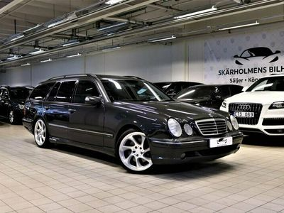 begagnad Mercedes E55 AMG AMGT DESINGO KOMBi FULLUTRU 354HK GPS TAKLUCKA