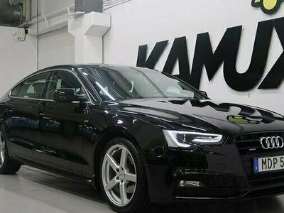 begagnad Audi A5 Sportback 2.0 TDI | Q | S-line | D-värmare 2016, Sportkupé Pris 204 900 kr