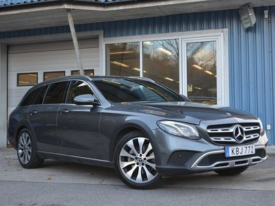 begagnad Mercedes E220 All-Terrain Värmare Kamera GPS Drag ILS