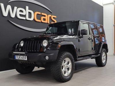 begagnad Jeep Wrangler Unlimited 2.8 4WD Aut Soft/Hardtop 200hk