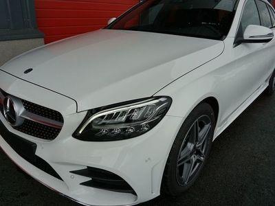 used Mercedes C220 d Kombi Aut //Demobil//Max 400 mil//AMG Line//Dragkrok//Backkamera//