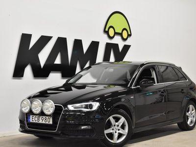 begagnad Audi A3 Sportback 2.0 TDI S-Line D-värme Drag (150hk)