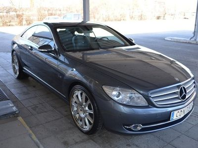 usata Mercedes CL600 Coupé V12 517hk 5G-Tronic Taklucka Läder Navigation