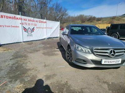 begagnad Mercedes E200 212 GNATURAL GAS