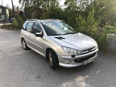begagnad Peugeot 206 SW Sport 1,6 lågmilare