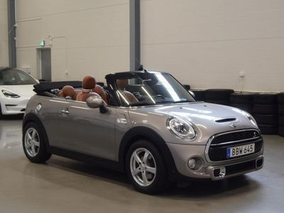 begagnad Mini Cooper S Cabriolet 192HK Chili Wired / Se spec