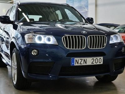 brugt BMW X3 XD 30d M-Sport NAVI DRAG 2014, SUV 244 800 kr