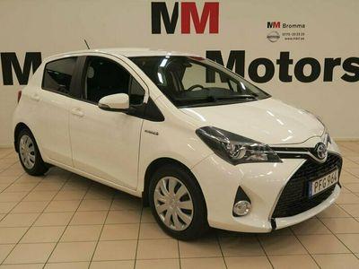 begagnad Toyota Yaris Hybrid 1.5 VVT-i CVT Euro 6 VÄRMARE