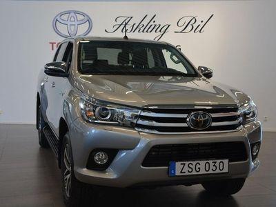 begagnad Toyota HiLux D-Cab 2.4 AWD Aut Premium 150hk