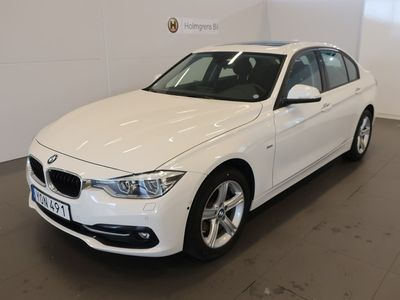 usata BMW 320 d xDrive Sedan Model Sport. Connected. Automat. Parking. Travel 2018, Sedan 346 900 kr