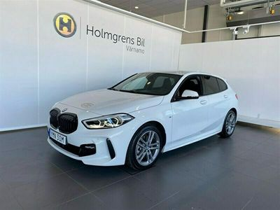 begagnad BMW 118 i M-Sport M-Stol Aktiv Farthållare HiFi Connected Shadow Line