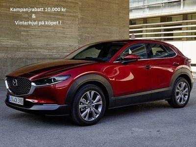begagnad Mazda CX-30 Cosmo 2.0 (150hk) AT6 M-Hybrid (V-hjul ingår)