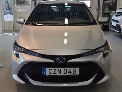 begagnad Toyota Corolla Hybrid Elhybrid Vinterhjul Friktion