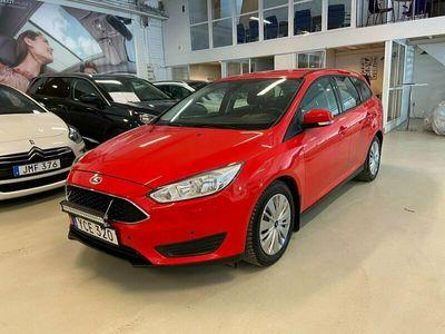 begagnad Ford Focus Kombi 1.5 TDCi 95hk Trend Rattvärme Vhjul Euro 6