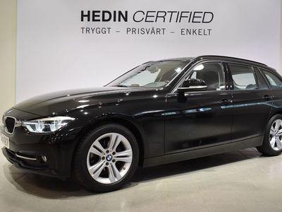 begagnad BMW 318 3 D 150 hk - Panoramatak LED-strålkastare