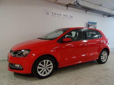 begagnad VW Polo 5-dörrar 1.2 TSI BlueMotion Euro 6 90hk