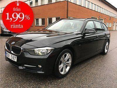 begagnad BMW 320 d Touring Sport line 184hk 13000mil