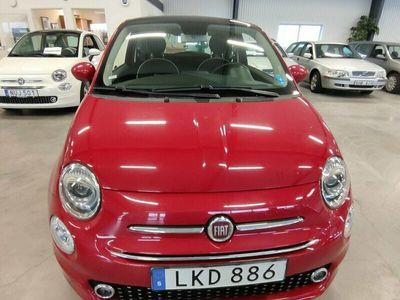 begagnad Fiat 500 1.2 Euro 6 2019, Halvkombi Pris 121 000 kr