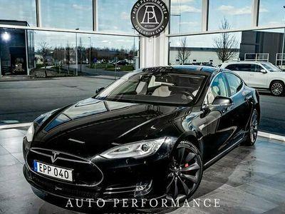 begagnad Tesla Model S P85D Fri hemleverans 2015, Sedan Pris 495 000 kr