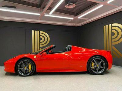 begagnad Ferrari 458 Spider 4.5 V8 Lifting Sportavgas 2013, Cab 1 899 000 kr