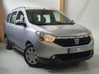 begagnad Dacia Lodgy 1.5 dCi/Kamrem bytt/Nyserv/Nybes