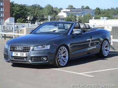 begagnad Audi A5 Cabriolet 2.0 TFSI quattro S-Line S-tronic