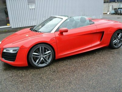 begagnad Audi R8 Spyder 5,2 V10 / 1300 mil / Capristo /