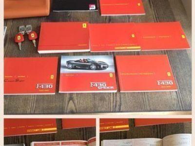 begagnad Ferrari F430 spider svensksåld. -07