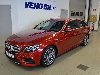 gebraucht Mercedes E220 AMG, Premiumpaket, Värmare, Drag