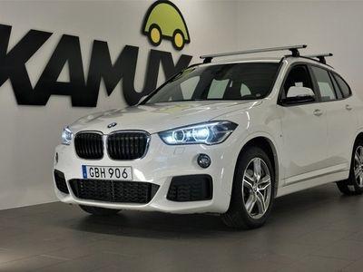 begagnad BMW X1 xDrive18d M-Sport   Drag   S&V   150hk