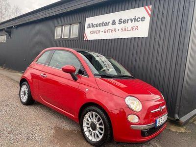 begagnad Fiat 500C CAB 1.2 Lounge Euro6 4.200MIL*FIN