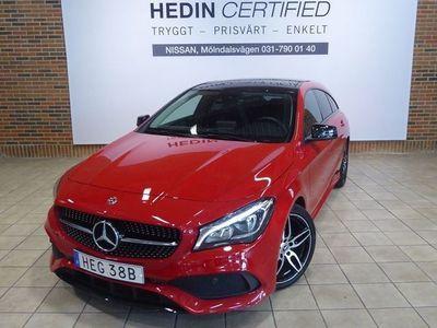 begagnad Mercedes CLA180 Shooting Brake // AMG Line // Night Package