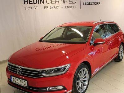 begagnad VW Passat 2.0 TDI Sportscombi 4MOTION 190hk S+V-Hjul
