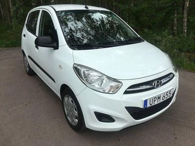 begagnad Hyundai i10 1.1 iRDE 69hk/ låga mil och låg s
