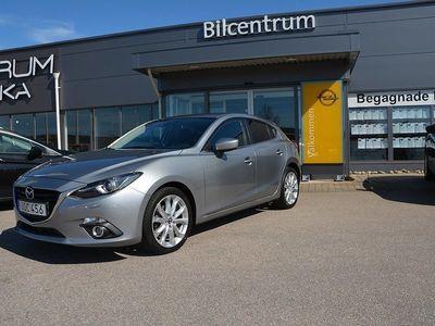 begagnad Mazda 3 Optimum Sport, Automat, NAV, DRAG