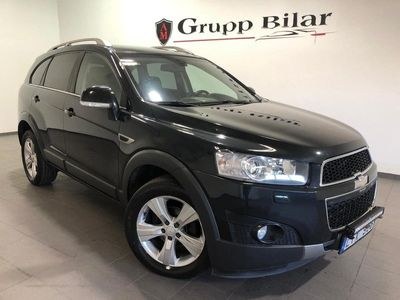 begagnad Chevrolet Captiva 2.2 VCDi AWD Hydra-Matic 7-sits 184hk