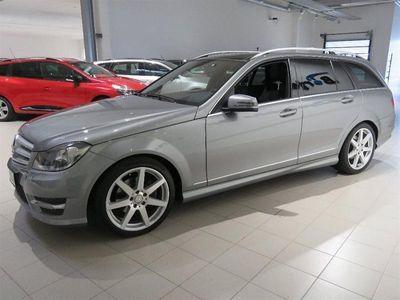 begagnad Mercedes C220 CDI Kombi BlueEfficiency -13