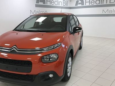 begagnad Citroën C3 Feel 82Hk sensorer Apple Carplay